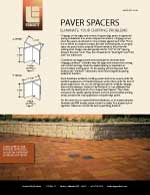 Paver Spacers