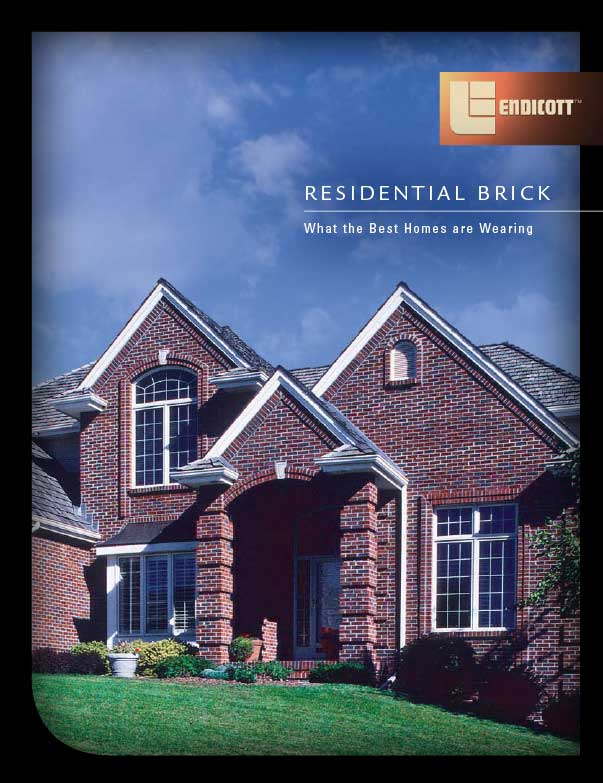 Residential Face Brick Brochure